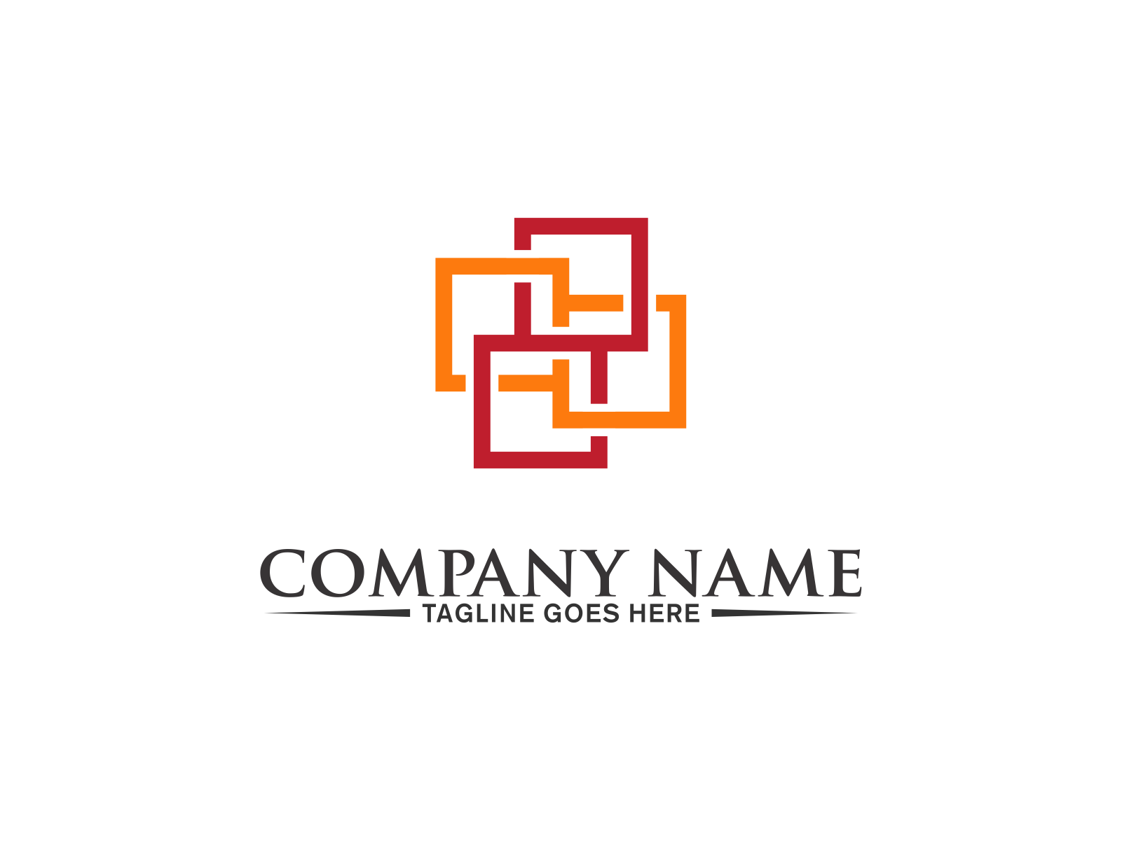 Square Logo by Meremelek  a perfect logo for Accounting & Financial
