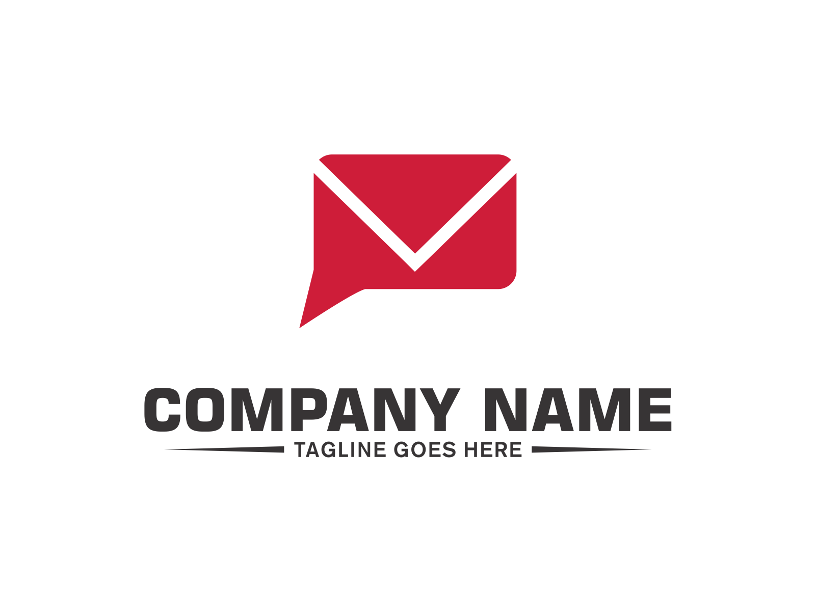 Mail Chat  by Meremelek  a perfect logo for Technology