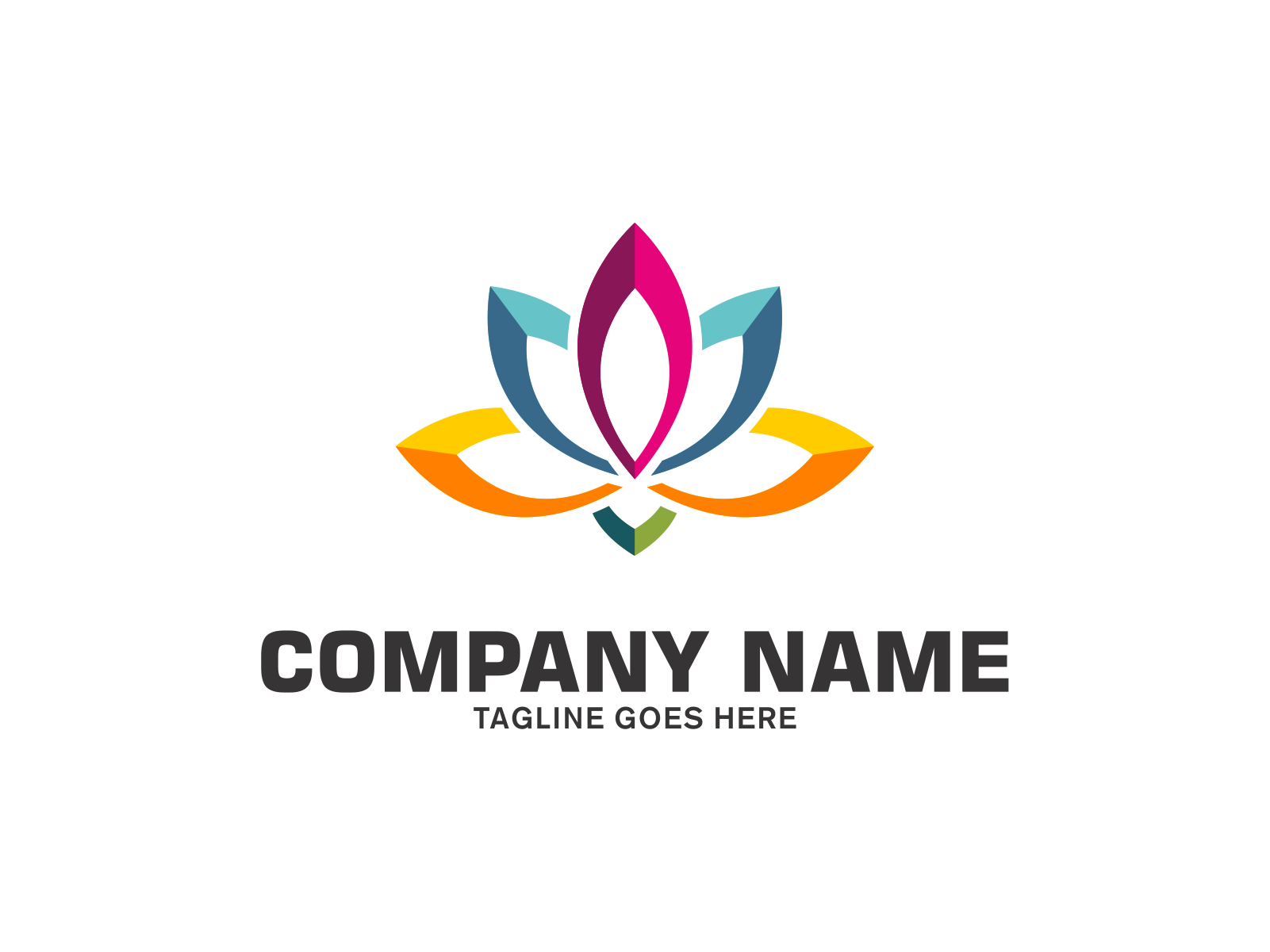 Color Flower  by Meremelek  a perfect logo for Spa & Esthetics
