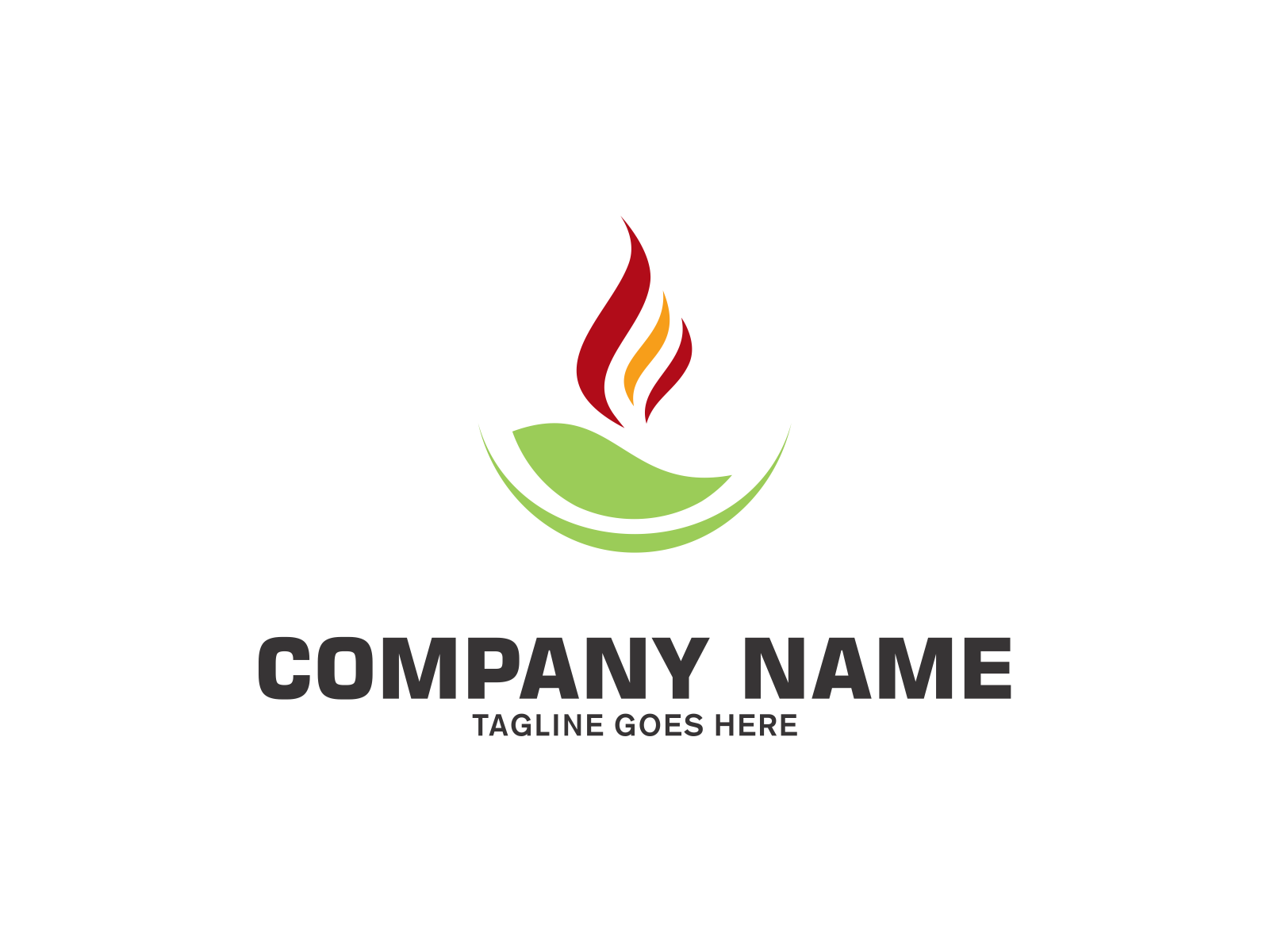 Fire Nature by Meremelek  a perfect logo for Spa & Esthetics