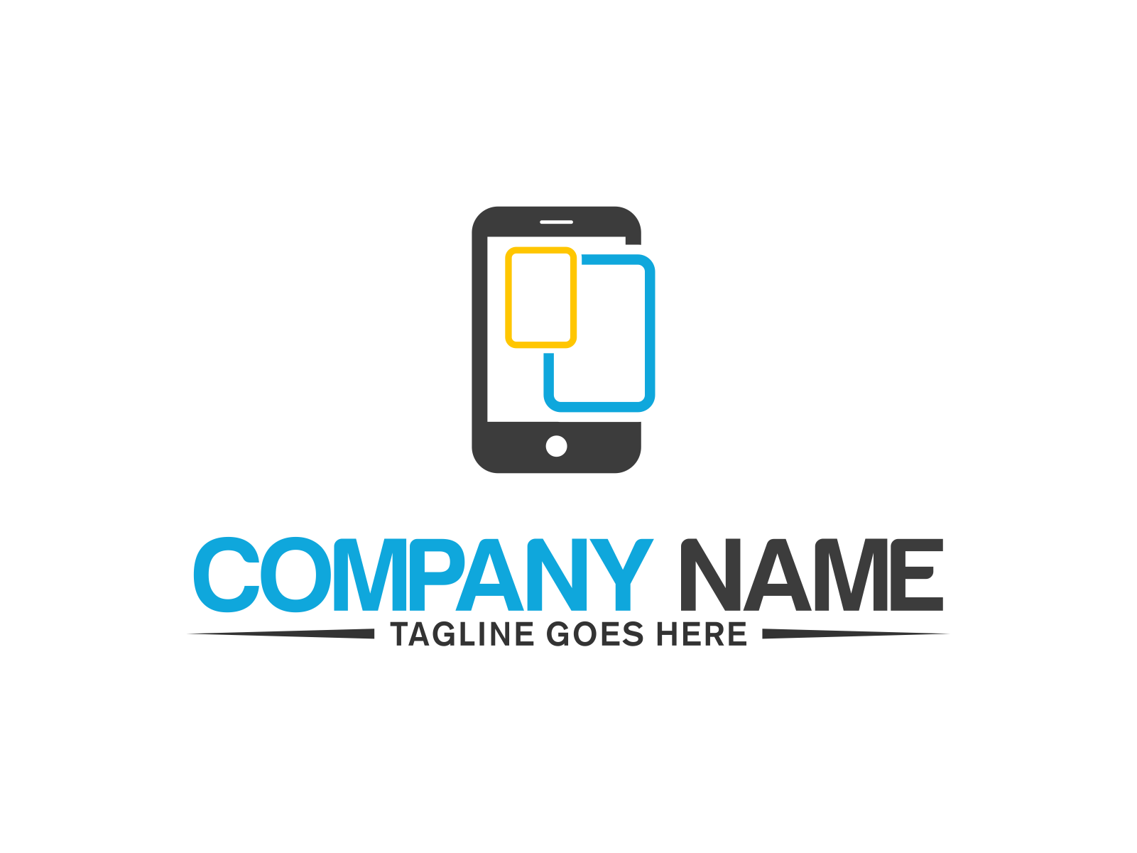 Mobile Phone by Meremelek  a perfect logo for Technology