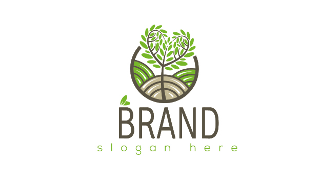 Biofarming logo by Logohill  a perfect logo for Agriculture