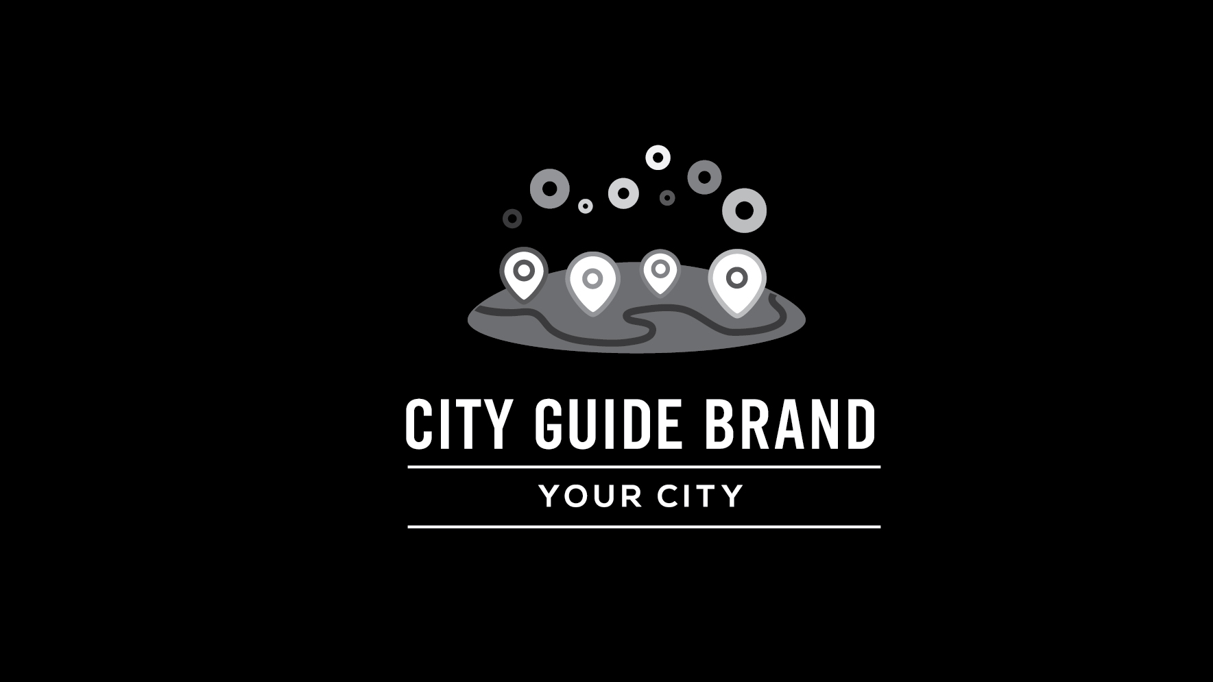 City guide logo by Logohill  a perfect logo for Internet