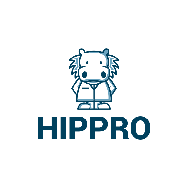 Hippro by Diasdeluxe  a perfect logo for Internet