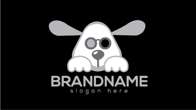 3d cinema dog by Logohill  a perfect logo for Animals & Pets