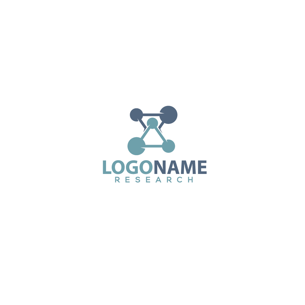 Research logo by Romaniac  a perfect logo for Technology