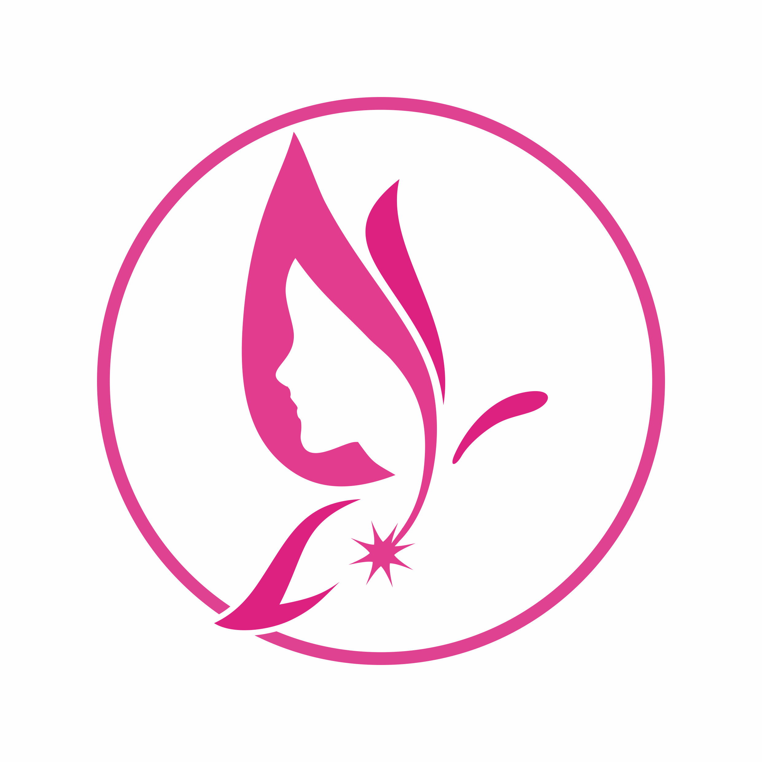 care for women by Risqiwa2  a perfect logo for Spa & Esthetics