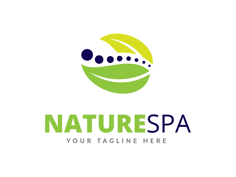 Nature Spa Logo by Maraz1971  a perfect logo for Travel & Hotel