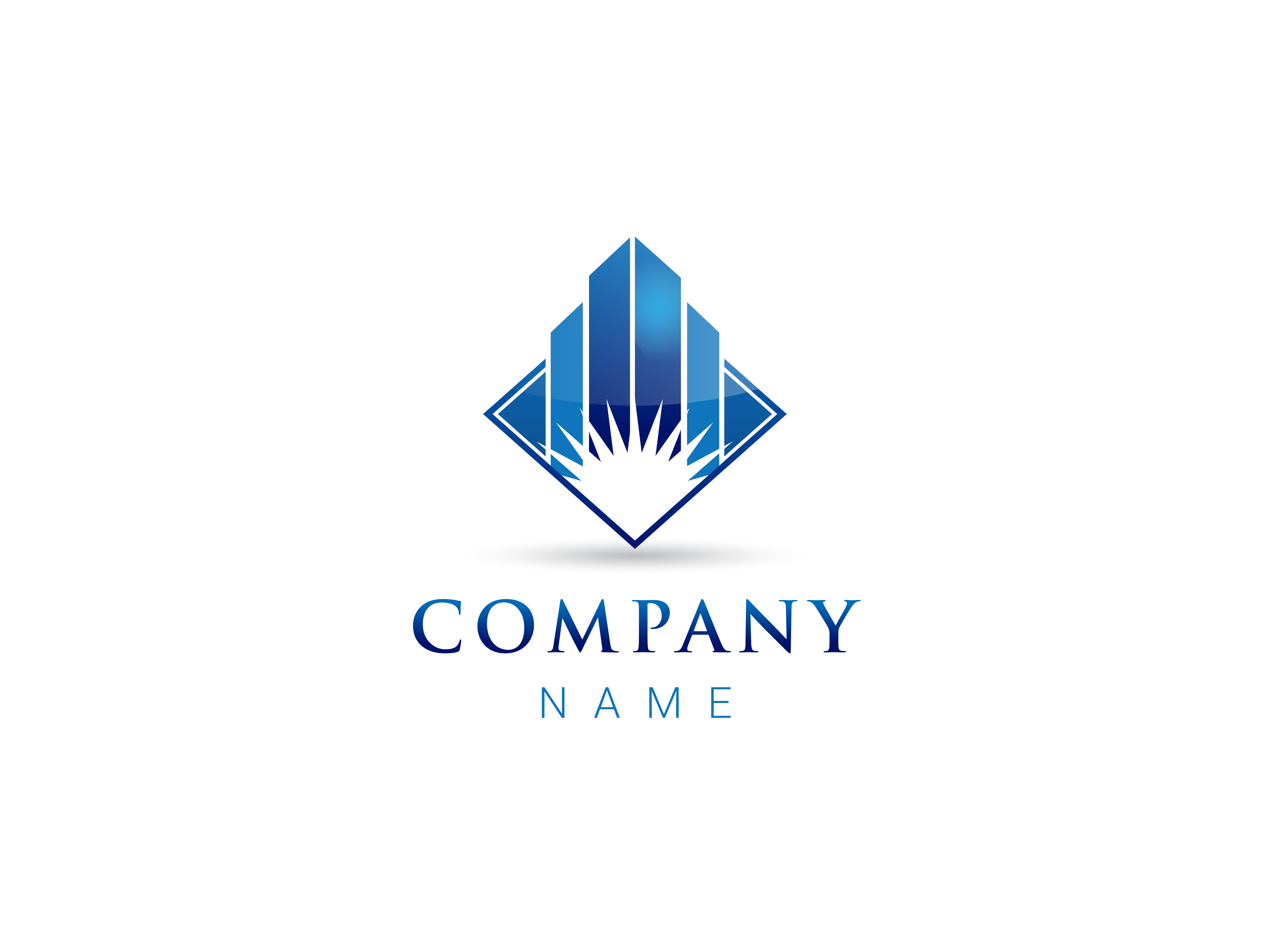 Architectural Real Estate Company Logo by Angela Cini  a perfect logo for Real Estate & Mortgage