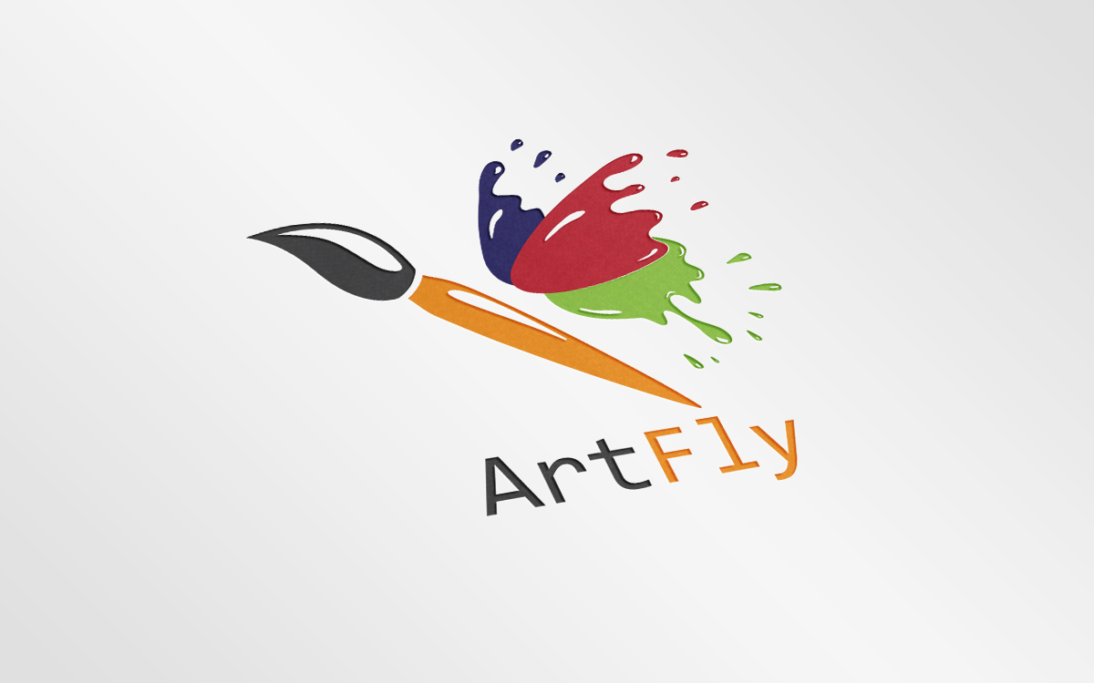 ArtFly by Mitang Design  a perfect logo for Entertainment & The Arts