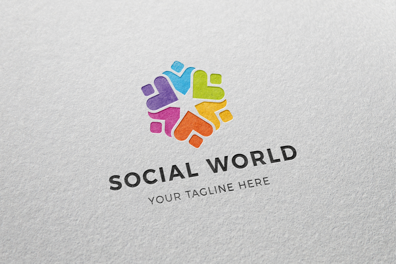 Social Logo by Khaled.akrout  a perfect logo for Community & Non-Profit