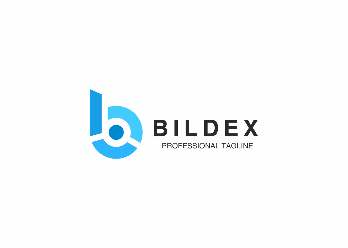 Bildex B Letter Logo by Zozuca  a perfect logo for Accounting & Financial