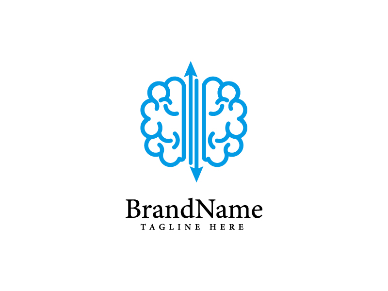 Brain Smart business Logo template by Vectoryzen  a perfect logo for Accounting & Financial