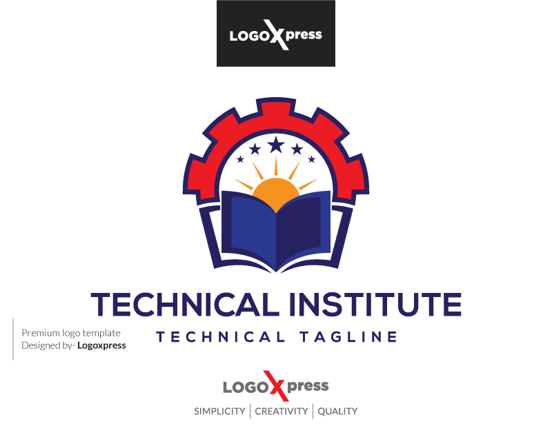 Technical Institute Logo by Logoxpress  a perfect logo for Technology