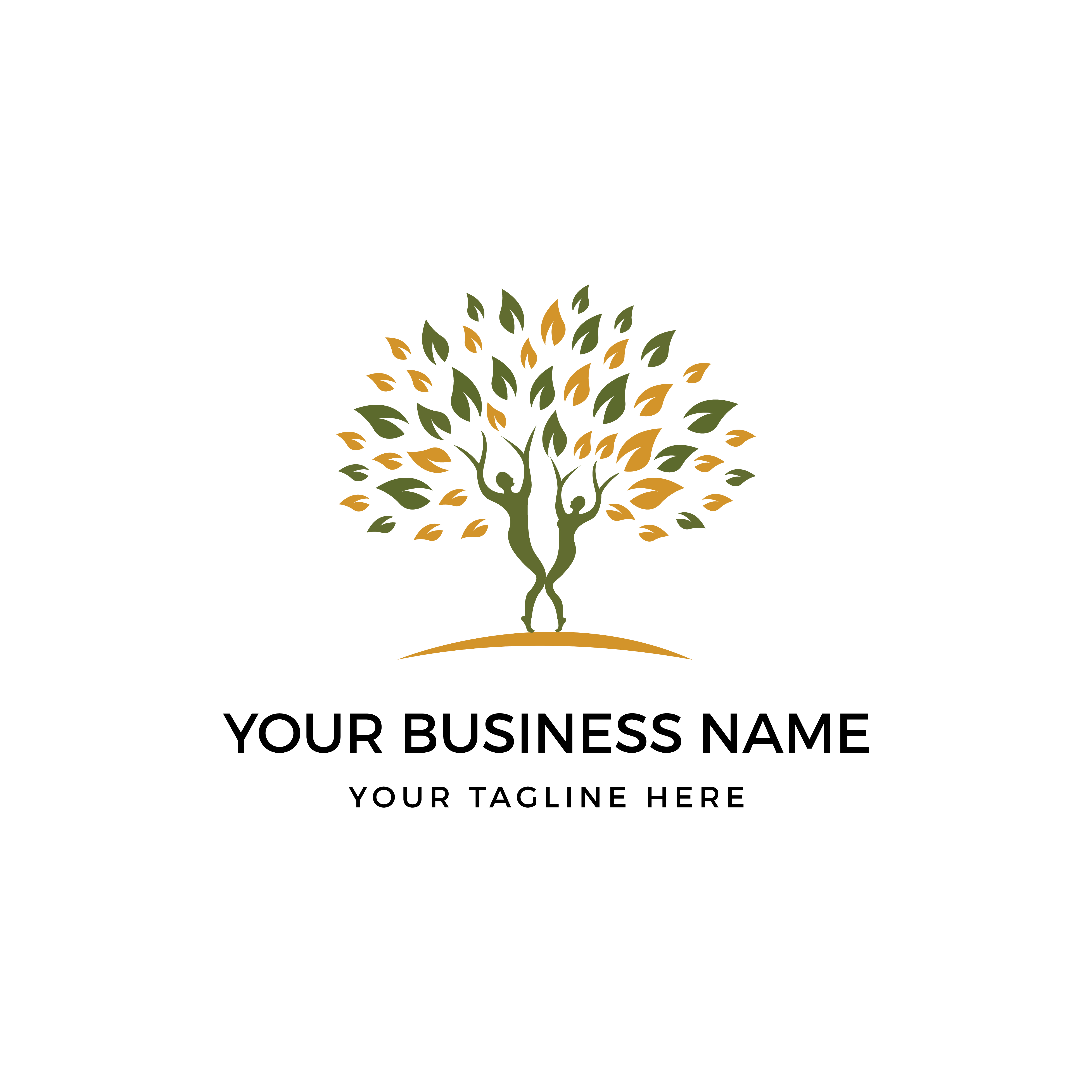 Fitness , Wellness, Spa, Yoga, Health And  Business Consulting Logo Concept by Vividsoluation  a perfect logo for Spa & Esthetics