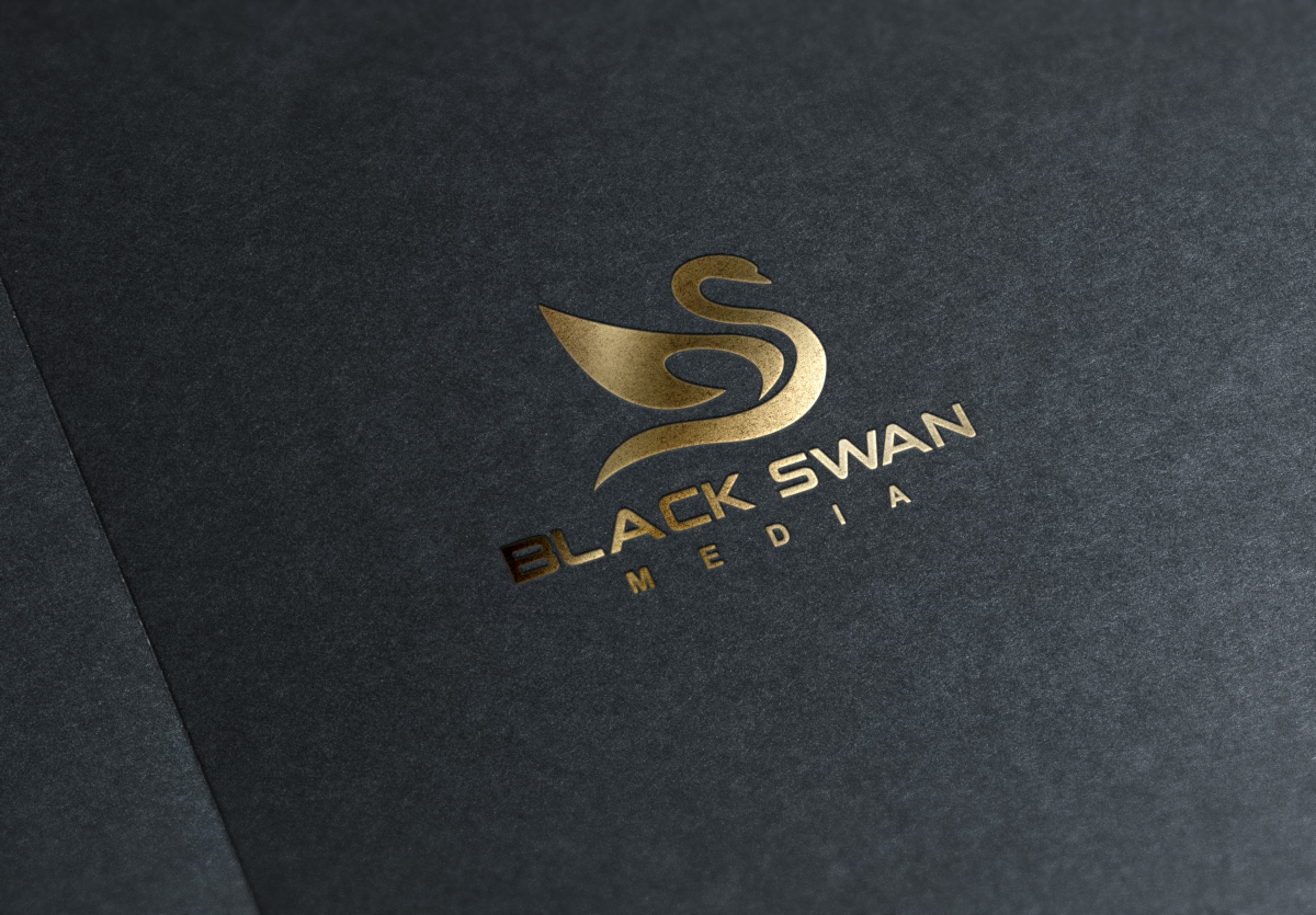 Black Swan Logo by Teo405  a perfect logo for Agriculture