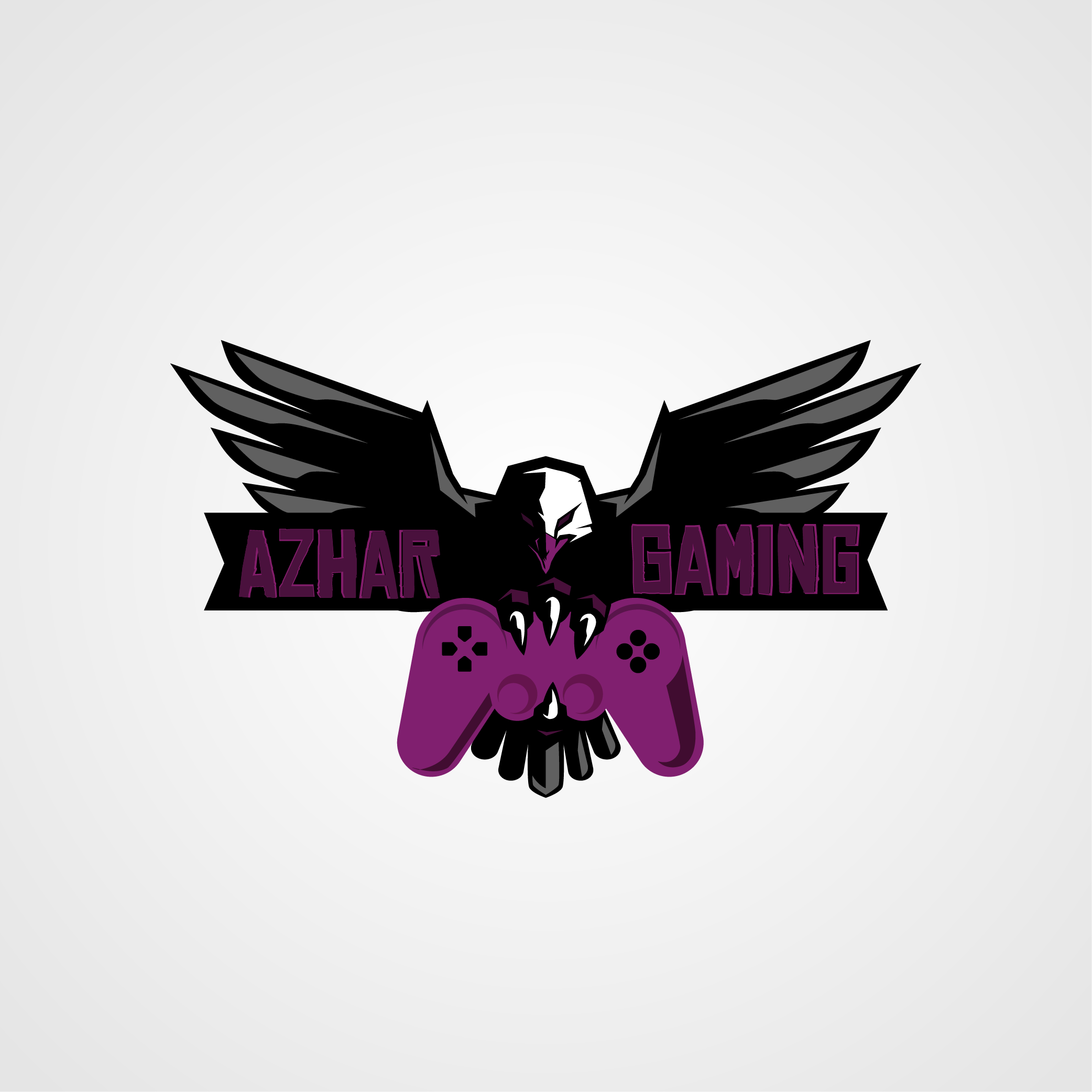 Eagle gaming logo by Bozigners  a perfect logo for Games & Recreation