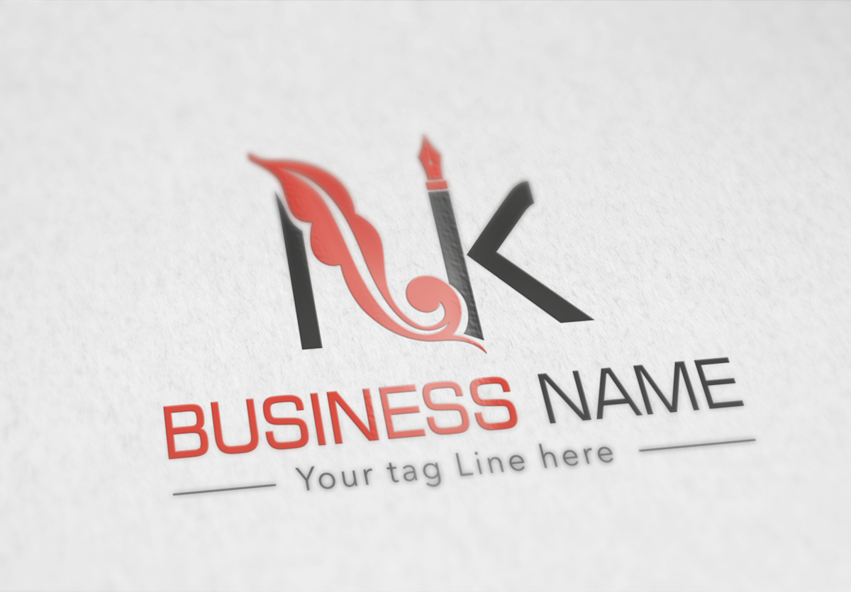 Ink Logo by jameskary  a perfect logo for Technology