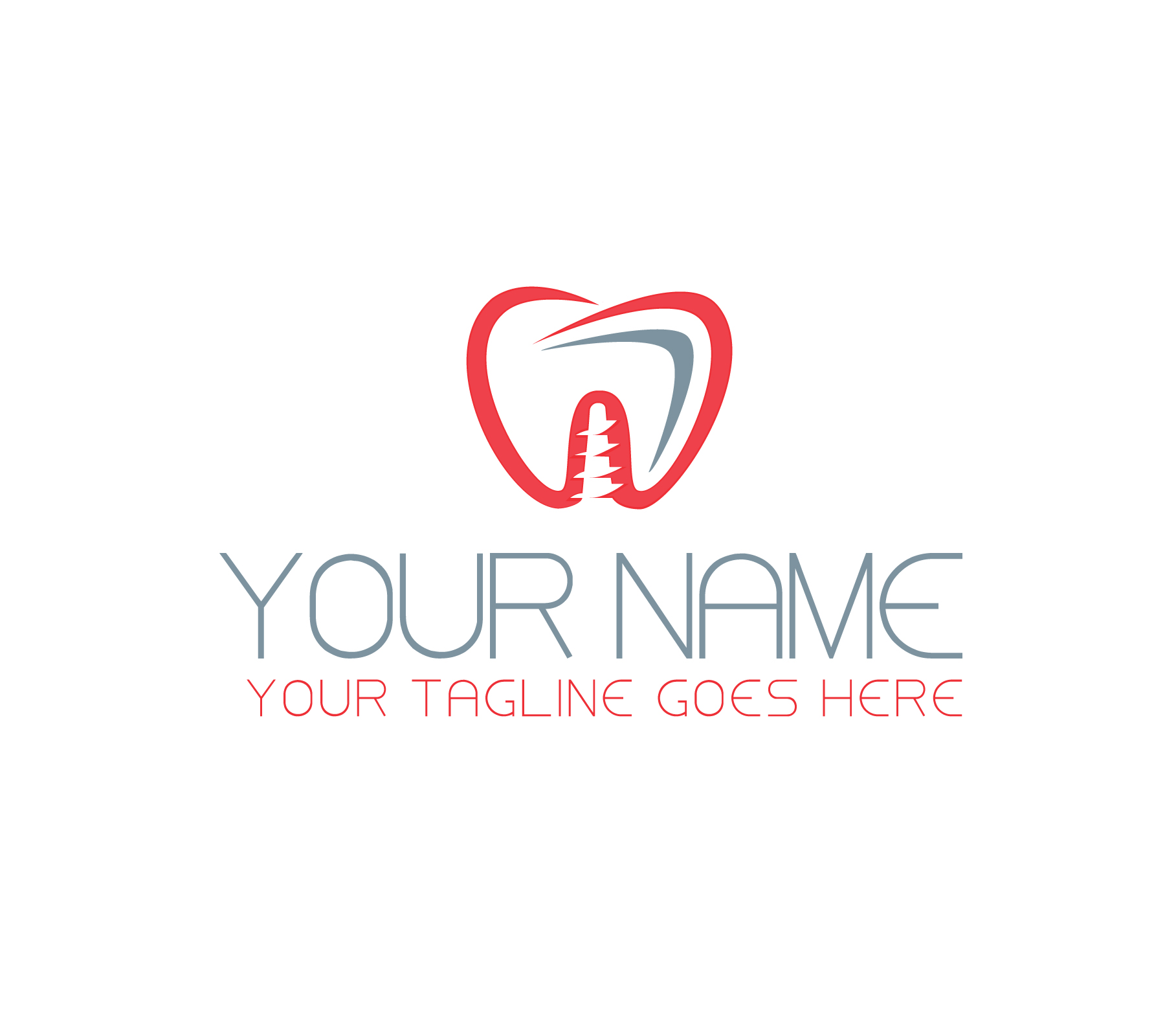 Dental implant Logo by Victor Onisor  a perfect logo for Medical & Pharmaceutical