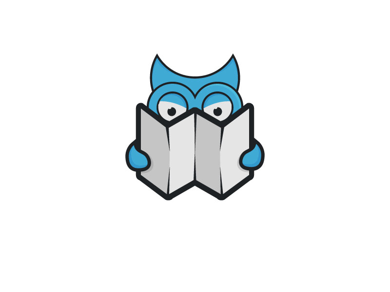 Owl Logo by Musique Design  a perfect logo for Education