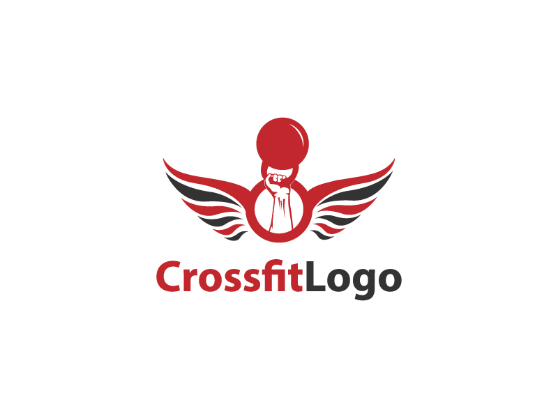 Crossfit Logo by Musique Design  a perfect logo for Sports