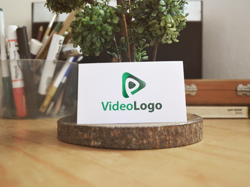 Video Play Logo by Musique Design  a perfect logo for Internet