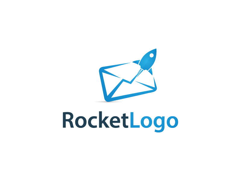 Rocket Mail Logo by Musique Design  a perfect logo for Communications
