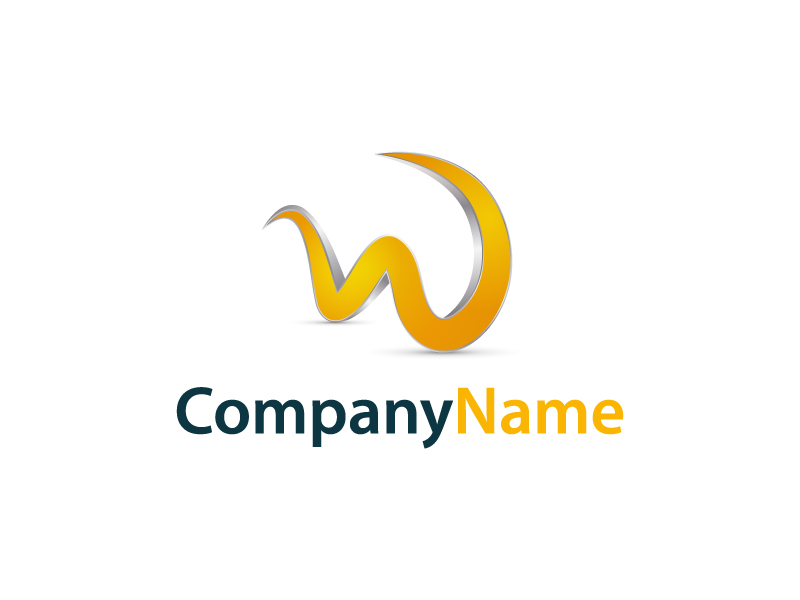 W Letter Logo by Musique Design  a perfect logo for Internet