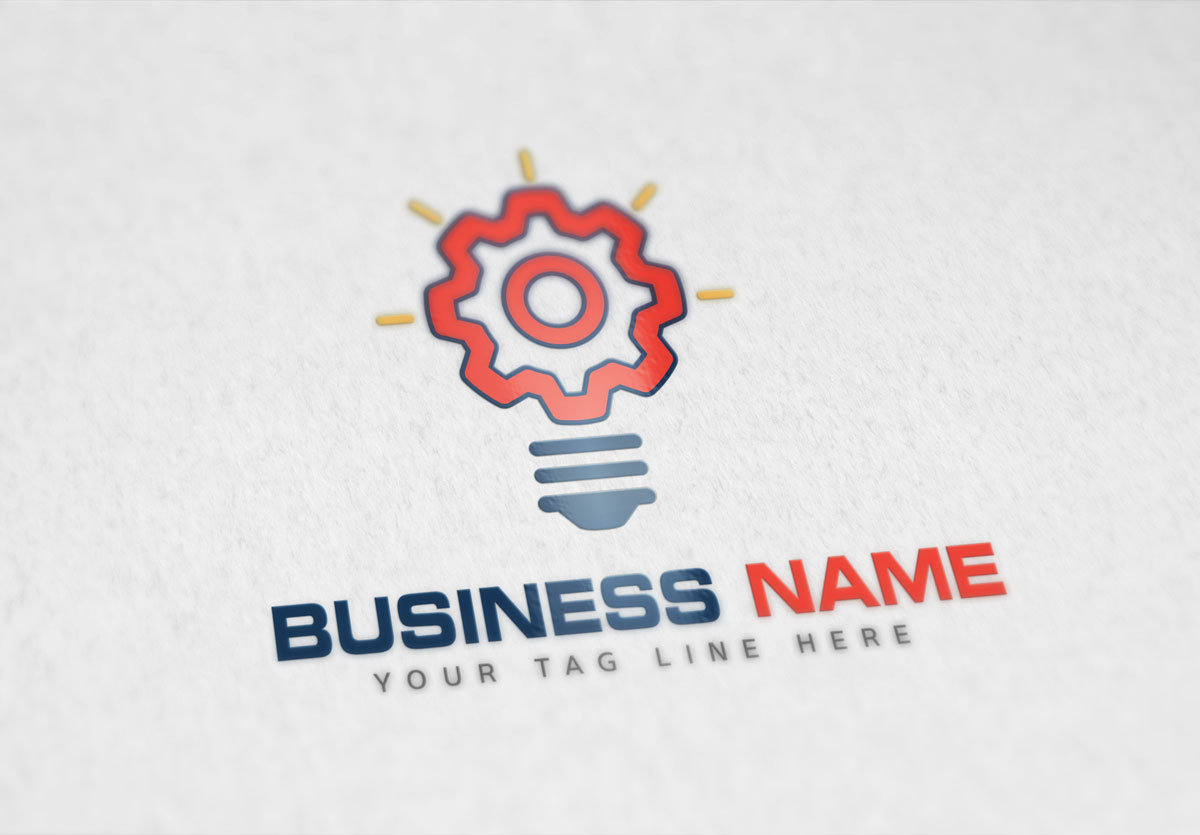 Bulb Logo by Zavrina Designs  a perfect logo for Technology