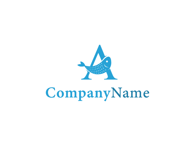 Fresh Fish Logo by Musique Design  a perfect logo for Restaurant