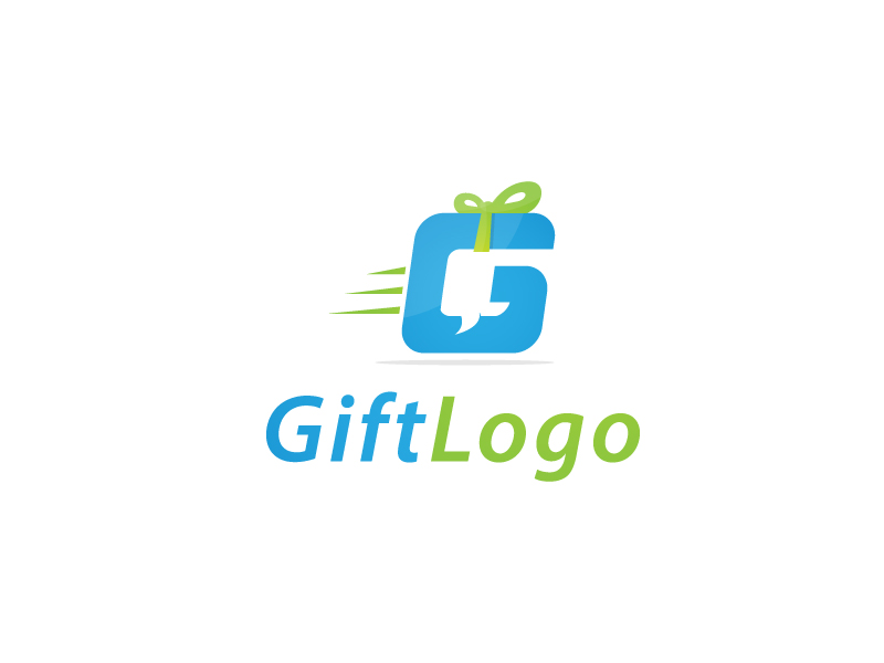 Gift Logo by Musique Design  a perfect logo for Internet