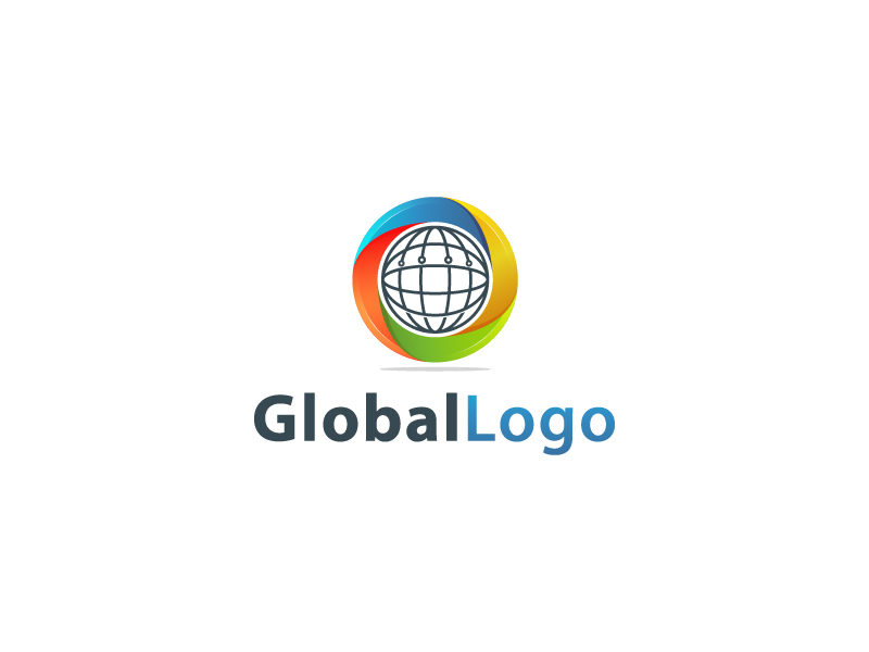 Global Logo by Musique Design  a perfect logo for Business & Consulting