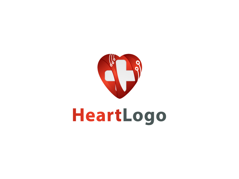 Heart Logo by Musique Design  a perfect logo for Medical & Pharmaceutical