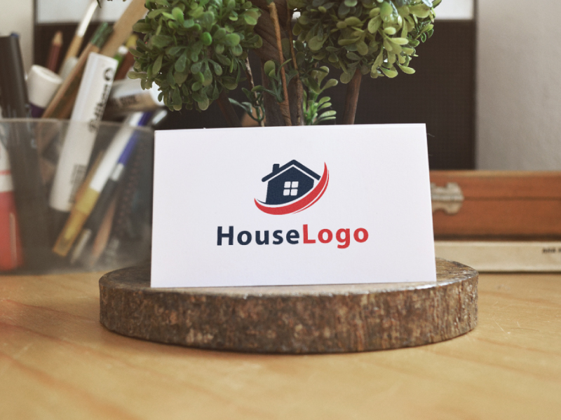 House Logo by Musique Design  a perfect logo for Real Estate & Mortgage