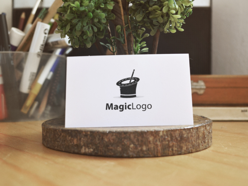 Magic Logo by Musique Design  a perfect logo for Entertainment & The Arts