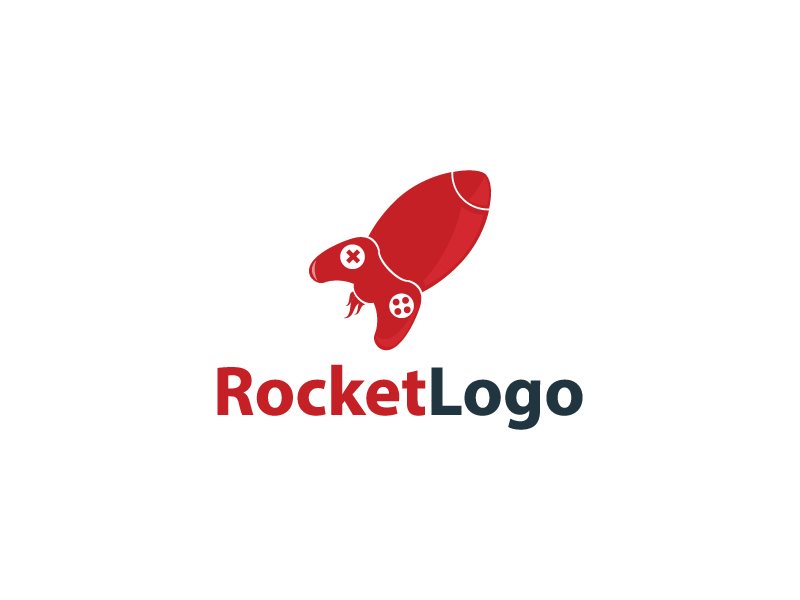 Rocket Logo by Musique Design  a perfect logo for Games & Recreation