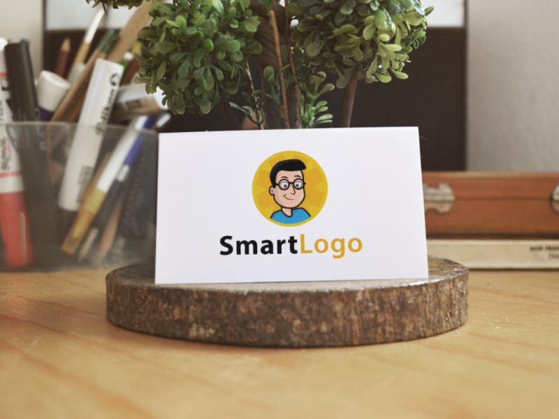 Smart Nerdy Logo by Musique Design  a perfect logo for Technology