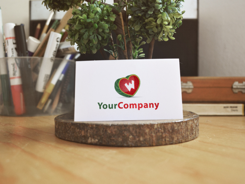 Watermelon Fruit Logo by Musique Design  a perfect logo for Restaurant