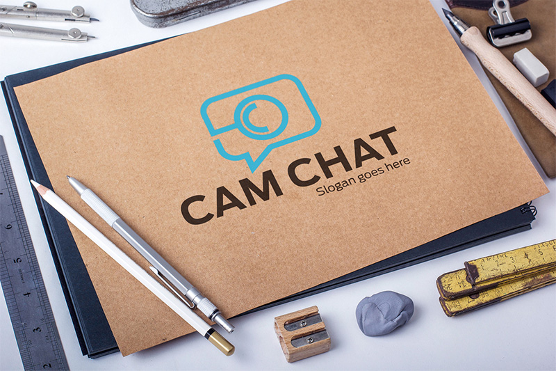 Cam Chat by Creative Studio  a perfect logo for Technology