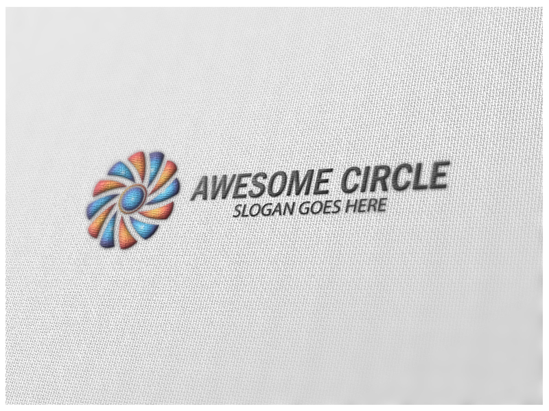 Awesome Circle by Logic6  a perfect logo for Technology
