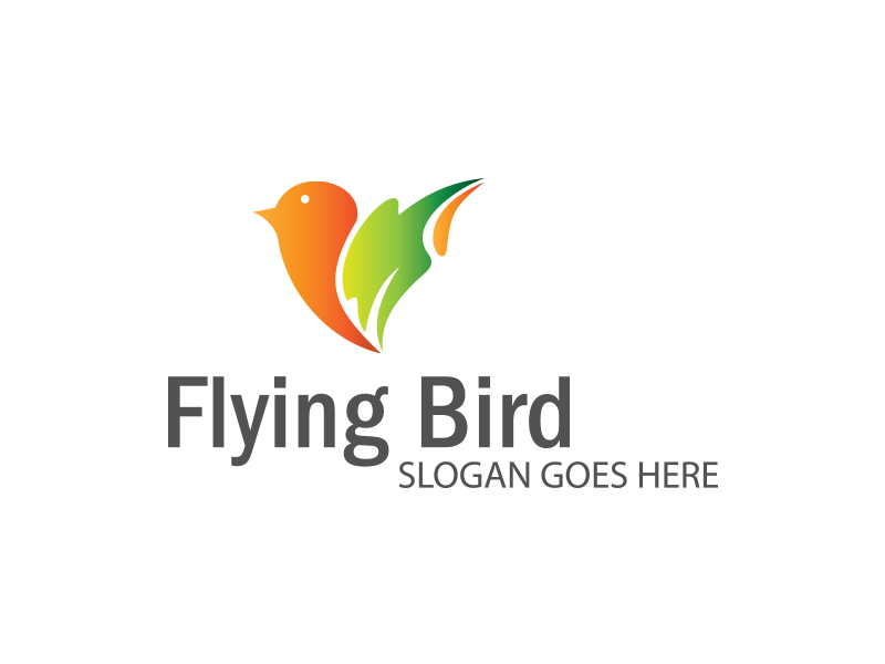 Flying Bird by Logic6  a perfect logo for Animals & Pets