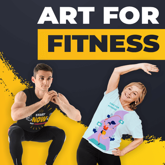 Art For Fitness Design Challenge