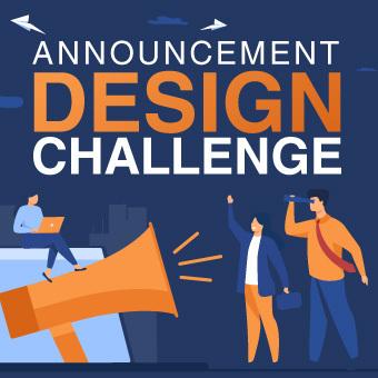 Announcement Design Challenge