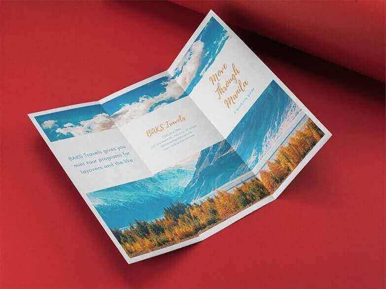 Tri-Fold Brochure Maker