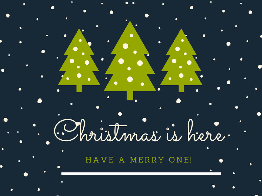 Christmas Greetings Maker