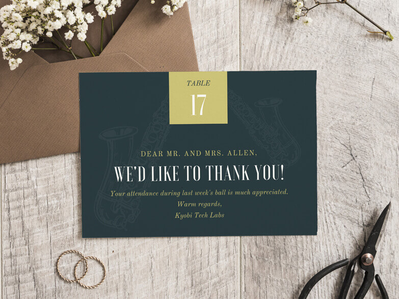 Place Card Maker