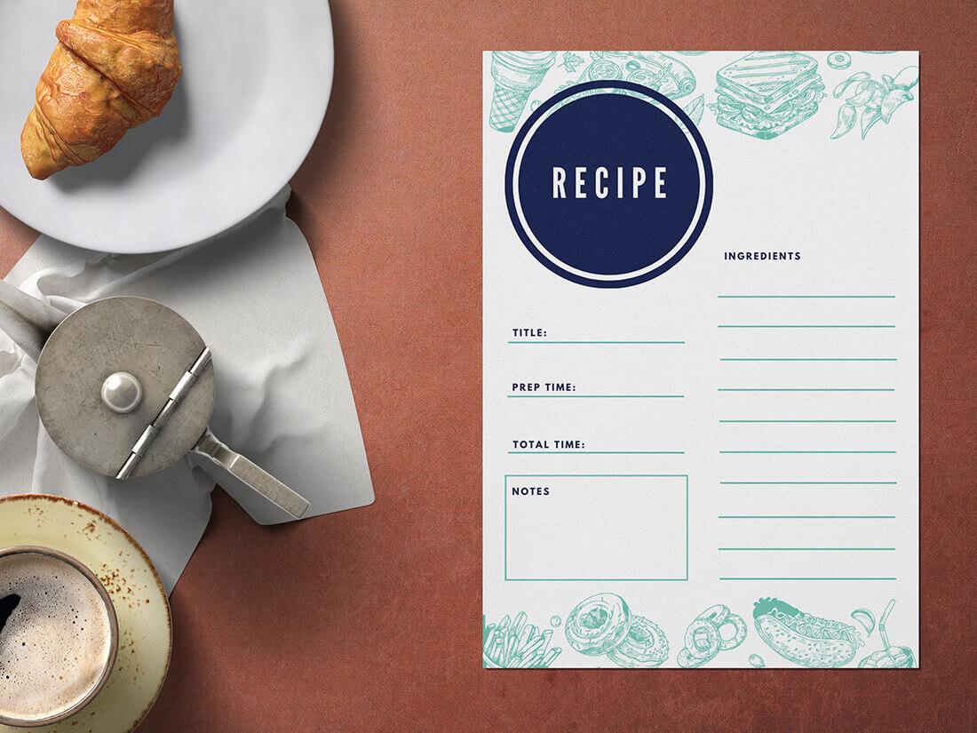 Recipe Card Maker