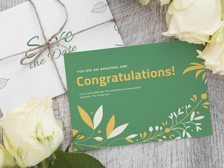 Wedding Congratulations Maker