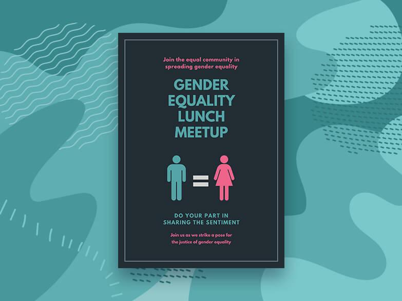 Gender Equality Poster Maker