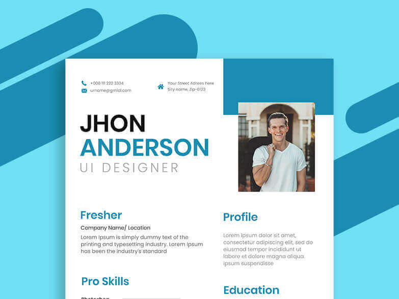 Fresher Resume Maker